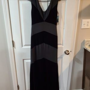 LRL Black Short Sleeves Dress